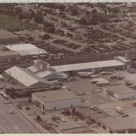 Former Utah Cooperative Association property;
