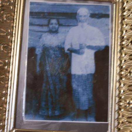 Kaung Lay's parents in Burma