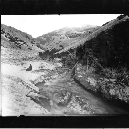Box Elder Creek in Box Elder Canyon, ca. 1910