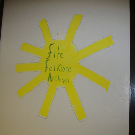 "Merrill Library graffiti - ""Fife Folklore Archives"""