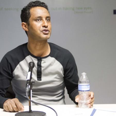 Action Shot: Berhane Speaking