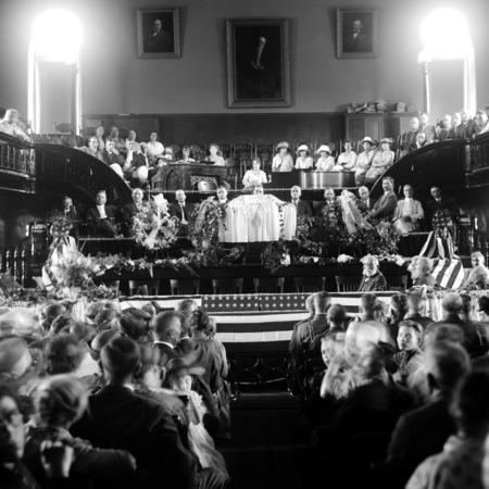 Funeral of E. C. F. Hartman