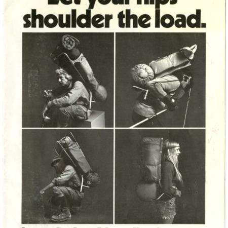 Let your hips shoulder the load, Introducing Alpenlite for 1973