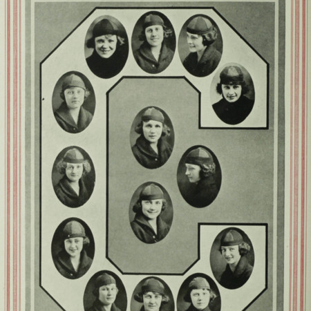The Crimson Girls (from the 1921 Crimson Annual)
