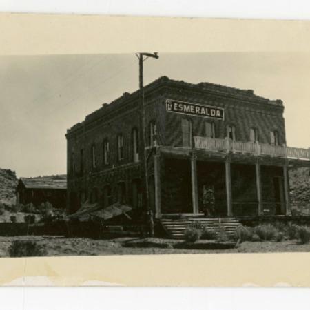 Esmeralda Hotel in Aurora, Nevada, 1920s
