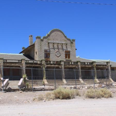 Rhyolite Train Depot