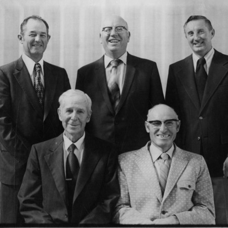 Past bishops of the Mendon Ward, 1973