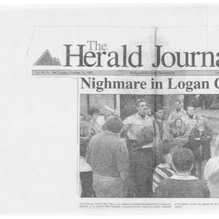 Nightmare in Logan Canyon