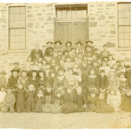 Children of the Rock School, 1895