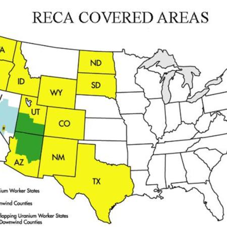 RECA Covered Areas Map