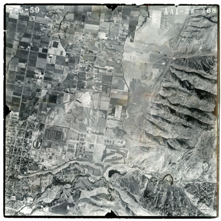 Aerial View of USU Campus and Hillcrest Airport