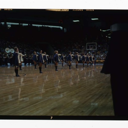 Spectrum opening ceremony game against Ohio State University (4 of 5), 1970<br />