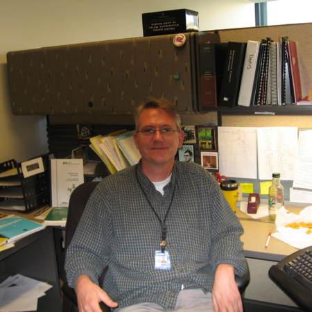 Denis Brunke, Cataloger, Merrill-Cazier Library,