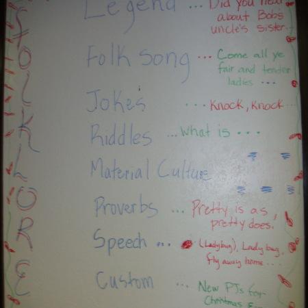 Merrill Library graffiti - Folklore