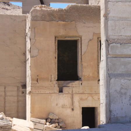Empty Window in Rhyolite