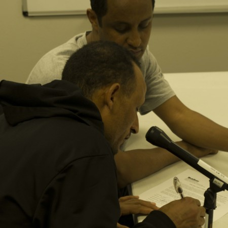 Berhane Explains Forms as Seltene Signs