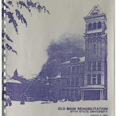 Old Main Rehabilitation: Preliminary, 1984