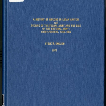 History of Grazing in Logan Canyon by Lysle R. English