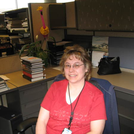 Julie Grover, Cataloging Assistant, Merrill-Cazier Library