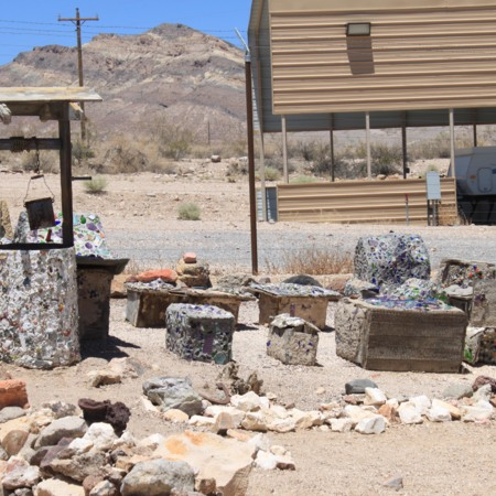 Abandoned Items at Rhyolite