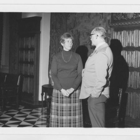 Mrs. Charles Peterson & Milton Abrams