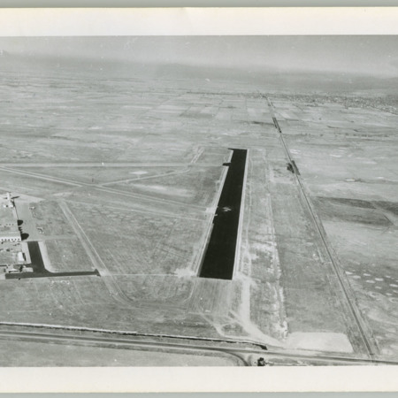 Aerial View of Logan-Cache Airport, north