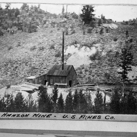 Amazon Mine, Logan Canyon, Utah, 1904 (1 of 2)
