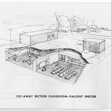 Modern School and Fallout Shelter