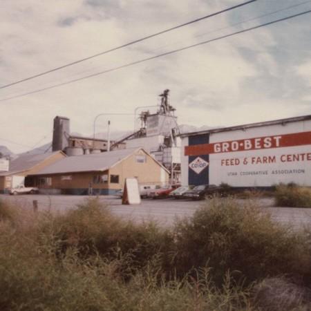 """Side view of """"Gro-Best"""" in Orem, Utah;"""