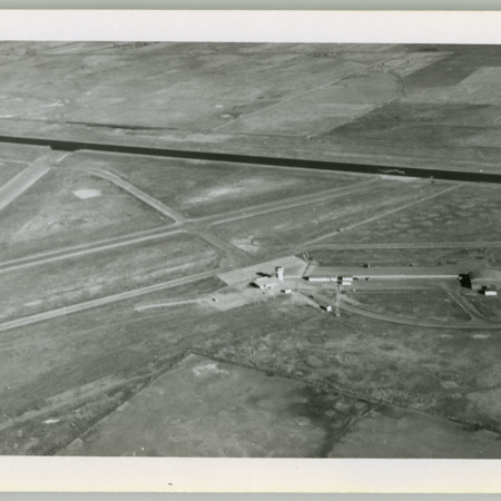 Aerial View of Logan-Cache Airport, east