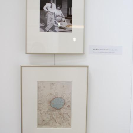 Jack London Exhibit, Crater Lake Panel, view 3