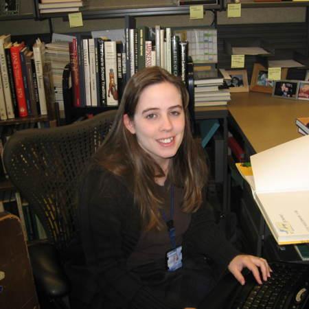 Liz Woolcott, Cataloging Assistant, Merrill-Cazier Library