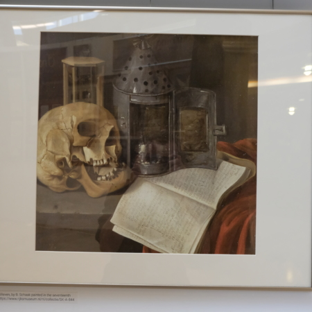 Physical Exhibit - Vanitas stilleven