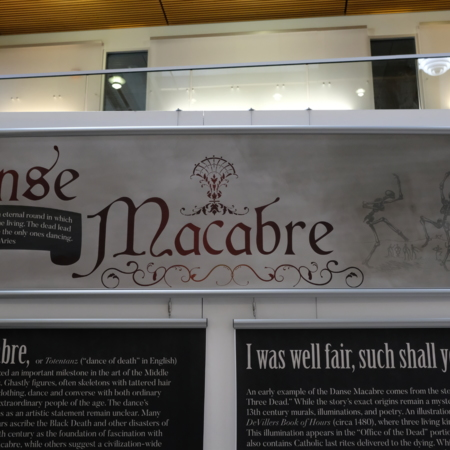 Physical Exhibit-Danse Macabre Panel 1