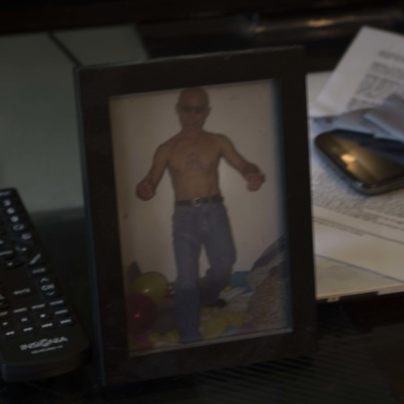 Framed photo of Tun Lay