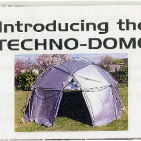 Gordon Eliott, Techo-Dome, undated