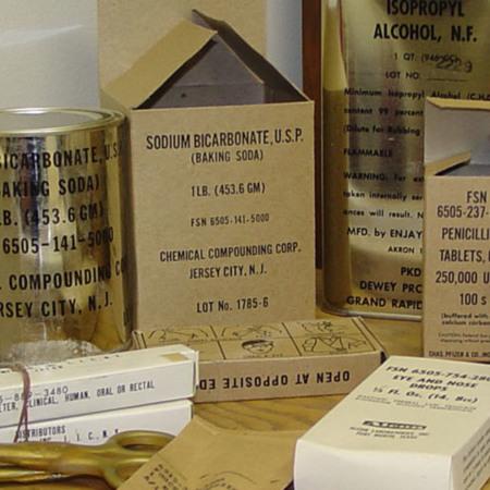 Shelter Med supplies