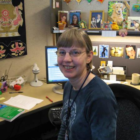Barbara Fleming, Cataloger, Merrill-Cazier Library