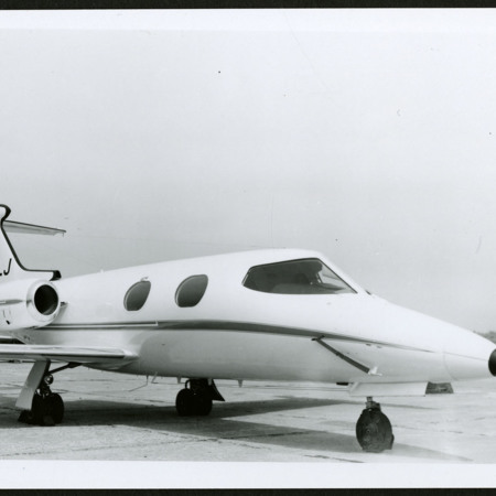 Learjet at Airport