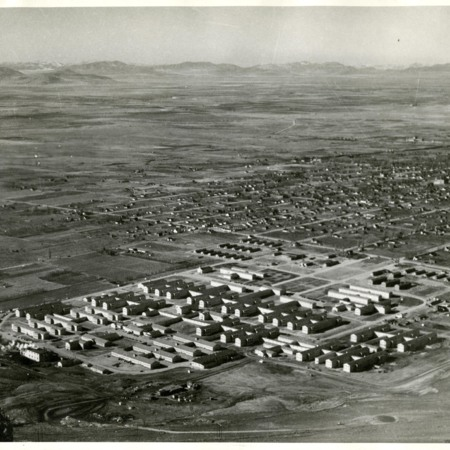 Bushnell and Brigham City in 1943