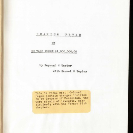 SCAMSS0194Bx001-003.jpg<br /> Uranium Fever Title Page