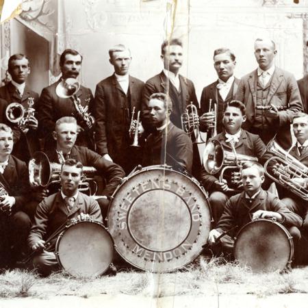 Sweeten's Band, Mendon, ca. 1895