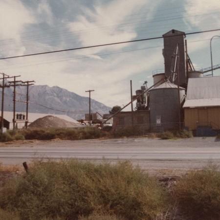 """Back view of """"Gro-Best"""" in Orem, Utah;"""