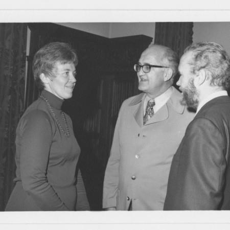 Mrs. Charles Peterson, Milton Abrams &amp; John Stewart<br />