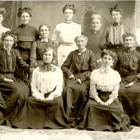 Mendon Primary leadership board, ca. 1900