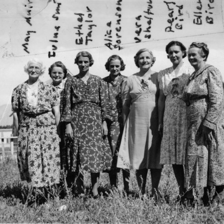 Relief Society women, 1930's