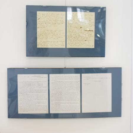 Jack London Exhibit, Wills panel view 4