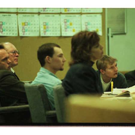 John Jepppson, second from left, Chris Doerr, center, and Arthur Peasnall, right at preliminary hearing - Image 2 of 3