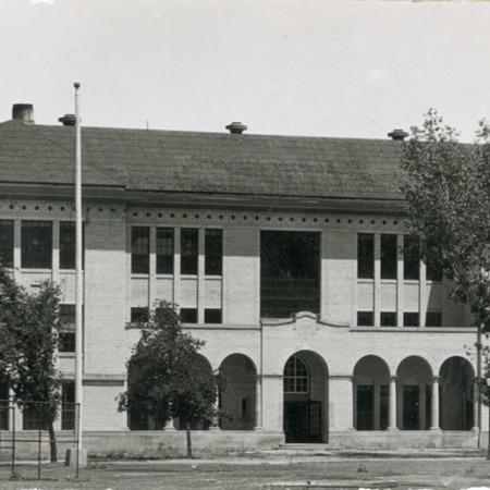 Animal Science building, circa 1923<br />
