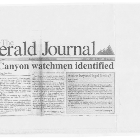 Canyon watchmen identified